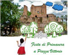 Al Giardino di Piazza Vittorio la Festa di Primavera per grandi e piccini all'insegna dell'amore e del rispetto per la natura