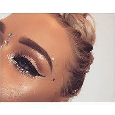 Best Makeup Glitter Rave Eye Shadows Ideas angel makeup Beste Make-up Glitter Rave Lidschatten 2 Makeup Goals, Makeup Inspo, Makeup Inspiration, Makeup Tips, Beauty Makeup, Hair Beauty, Makeup Ideas, Makeup Geek, Exotic Makeup