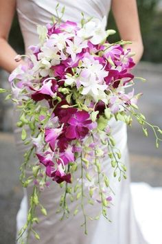 Tutti Fiori Floral Design - Flowers - San Francisco, CA - WeddingWire Orchid Bridal Bouquets, Fall Wedding Bouquets, Wedding Flower Arrangements, Bride Bouquets, Bridal Flowers, Flower Bouquet Wedding, Flower Bouquets, Wedding Centerpieces, Floral Arrangements