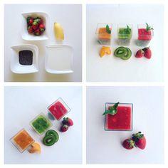 Chia puding s ovocným pyré - Fitness Recepty