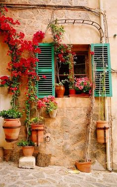 Colors of Mallorca, Spain - I thought this was a beautiful pic from a country I want to visit again.