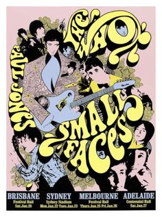 The Who + The Small Faces 1968