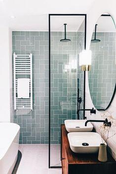99 Magnificient Scandinavian Bathroom Design Ideas That Looks Cool - Bathroom i. 99 Magnificient Scandinavian Bathroom Design Ideas That Looks Cool – Bathroom ideas – Scandinavian Bathroom Design Ideas, Bathroom Design Small, Bathroom Layout, Bathroom Colors, Bathroom Ideas, Bath Design, Bathroom Designs, Colorful Bathroom, Small Bathrooms