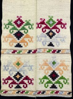 Vintage Embroidery Hello all, today I will talk about another Ukrainian embroidery tradition, used on rushnyky of the southern part of East Podillia. A rus. Hardanger Embroidery, Folk Embroidery, Shirt Embroidery, Vintage Embroidery, Embroidery Patterns Free, Cross Stitch Embroidery, Cross Stitch Patterns, Embroidery Designs, Tapete Floral