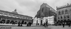 Bologna in winter  editing with #photoshop and #lightroom 2 #photos merged with Photomerge #panoramic shot