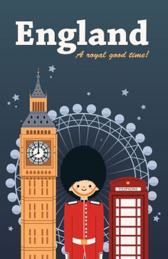 London, Paris, New York London Poster, London Art, City Illustration, Vintage London, London Calling, Vintage Travel Posters, Great Britain, Britain Uk, London Travel