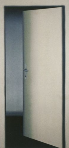 Gerhard Richter ~ 1 Door (Test-piece), 1967