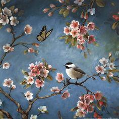 Framed Blossom II Print