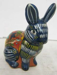 Mexican Pottery Rabbit