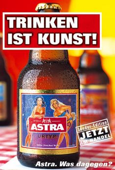 ASTRA – Drinking is art! Healthy Eating Tips, Healthy Nutrition, Healthy Drinks, Cocktail Quotes, Beer Commercials, Crock Pot Food, Neuer Job, Beer Poster, Drink Specials