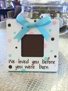Ultrasound Nursery Baby Personalized Picture Frame on Etsy, $24.00