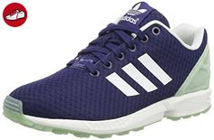 adidas ZX Flux, Damen Laufschuhe, Blau (Night Sky/Ftwr White/Frozen Green F15), 37 1/3 EU (4.5 Damen UK) - Adidas sneaker (*Partner-Link)