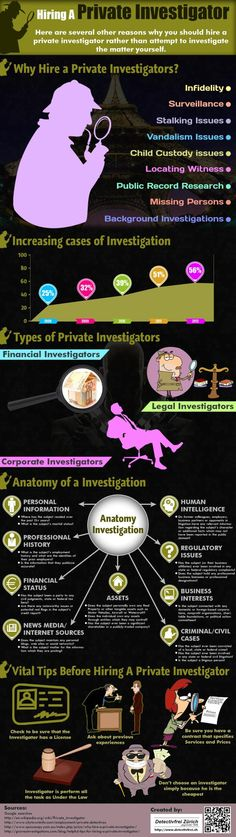 Reasons to Hire a Private Investigator Infograph