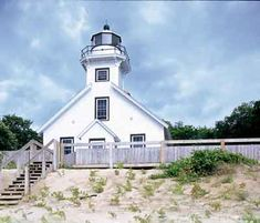 More Michigan lighthouses here....
