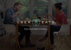 UberEATS, vos repas livrés à domicile en moins de 10 minutes