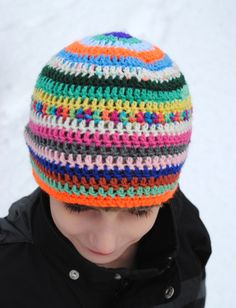 Easy Free Child Adult Crochet Hat Pattern