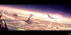 Escape from the Big Bang - Matteo Della Chiesa. https://www.behance.net/matteodellachiesa