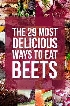 29 Beet Recipes That Will Make You A Believer is part of Beet recipes - Or why beets can't be ~beat~ Yummy Recipes, Vegetable Recipes, Whole Food Recipes, Vegetarian Recipes, Vegan Vegetarian, Cooking Recipes, Healthy Recipes, Recipes For Beets, Vegan Beet Recipes