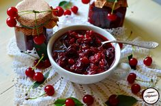 Dulceata de visine fara zahar Cherry, Fruit, Food, Canning, Eten, Meals, Cherries, Diet