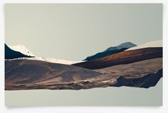 'Outliers, Volume I: Iceland' poster series by Ryan Sievert, via Behance