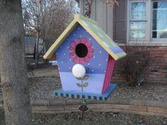 21 Cute Bird Houses Handmade From Wood