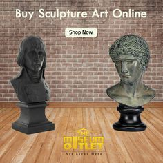 Browse exceptional hand-crafted Sculpture art from #TheMuseumOutlet at an affordable rates. #BuySculptureArtOnline  Visit: https://www.themuseumoutlet.com/home-decor-and-gifts/sculptures