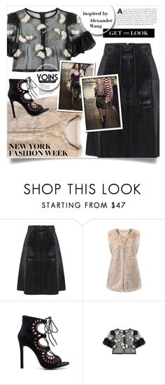 """""""Yoins #56"""" by tawnee-tnt ❤ liked on Polyvore featuring Alexander Wang, yoins, yoinscollection and loveyoins"""