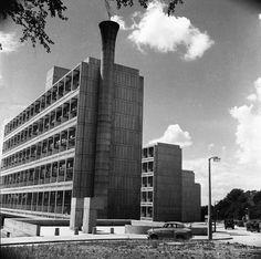 The Alton East Estate in Roehampton; 1958, Henry Grant