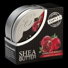 Bambucké maslo – granátové jablko 100 ml Butter, Cosmetics, Butter Cheese