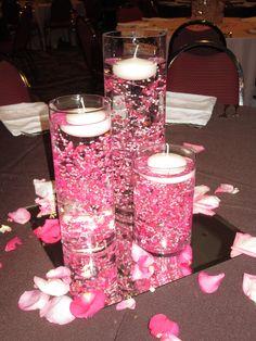 Flower Mill Wedding centerpiece