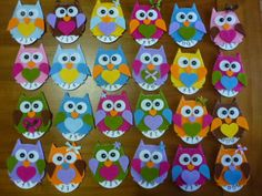 disco orario in feltro #Owl  >>> [crafts to make and sell]