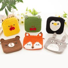 Irresistible Crochet a Doll Ideas. Radiant Crochet a Doll Ideas. Crochet Wallet, Crochet Phone Cases, Crochet Pouch, Crochet Keychain, Cute Crochet, Crochet Gifts, Crochet Handbags, Crochet Purses, Crochet Dolls