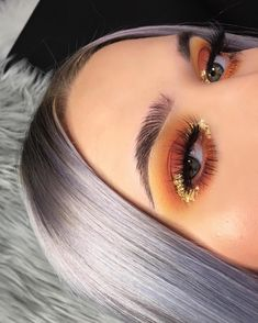 """8,576 Likes, 187 Comments - MORGAN ✨ (@jahdefinitelyfeel) on Instagram: """"✨WRAPPED IN GOLD✨ //honestly tried the gold on my outer corner on a whim and i'm now obsessed, not…"""""""
