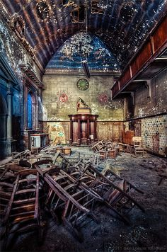 There is beauty in places long forgotten