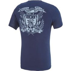 Smith & Wesson Men's Eagle Coat of Arms T-shirt