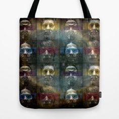 Bounded 16 Tote Bag by ARTito - $22.00