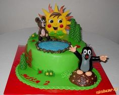 Birthday Cake, Tv, Desserts, Food, Tailgate Desserts, Deserts, Birthday Cakes, Television Set, Essen