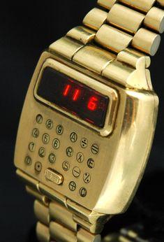 lcd watch vintage pulsar