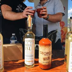 Belle Isle Honey Habanero  @georgesmixes Bloody Mary holding it down at @workhouseartscenter #Brewfest2016! #BeatTheHeat & #FeelTheHeat