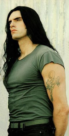Peter Steele of Type O Negative. Metalocalypse, Goth Guys, Peter Steele, Type O Negative, Green Man, Metal Bands, Pose Reference, Gorgeous Men, Pretty Boys