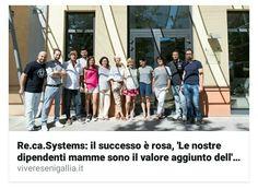 La chiave del nostro successo sono le nostre mamme.  Su VivereSenigallia si parla di Re.Ca. Systems e del segreto dietro al successo della nostra azienda.