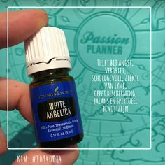 White Angelica.  Young Living
