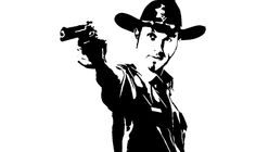 Rick Grimes Pumpkin Stencil   Displaying (19) Gallery Images For Walking Dead Stencils...
