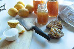Marmelade de limão. Será que fica boa? ;)