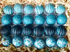 Blue is better! the cake ballers www.thecakeballers.com