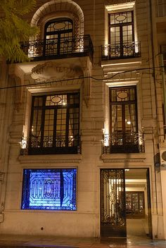 Milión Bar - Recoleta - Buenos Aires - A three storey mansion built in 1913. Had cocktails and tapas with my husband here on the 25th November, 2011