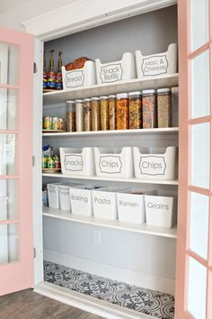 Today's post DIY Pantry Buildis a favorite of mine for several reasons! 1. It added SO much function to our kitchen and our lives and 2. I LOVE how organized and how pretty it is! When we moved into our home this summer, there was no pantry. Whaaaat?! Not gonna fly. I knew this when we bought it, obviously and had grand plans of making my dream pantry.  My old house had the most incredible pantry and is still a favorite on the blog and on Pinterest. Side story: I met this girl the other…