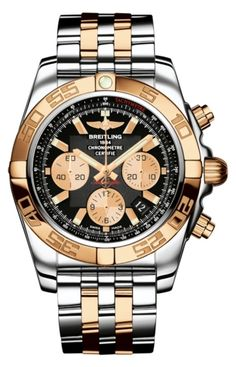 375C Steel and Rose Gold Brand New ONE LINK Breitling Chronomat Rose Gold Link