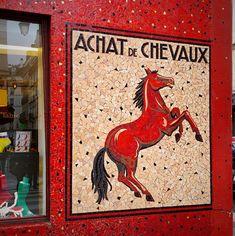 sock shop that I walked passed often rue de Roi de Sicile