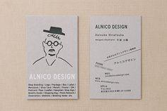 お客様の制作例 名刺|ハグルマオンラインストア  封筒  カード 冊子 箱 タグ